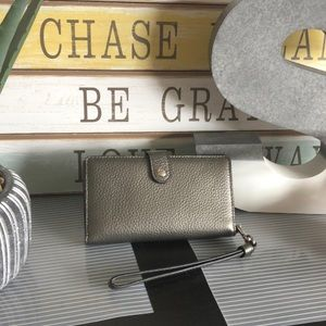 Coach Small phone wristlet